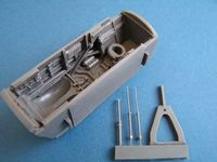 BAC TSR-2 nose wheel bay for Airfix