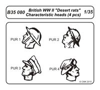 British WW II Desert rats