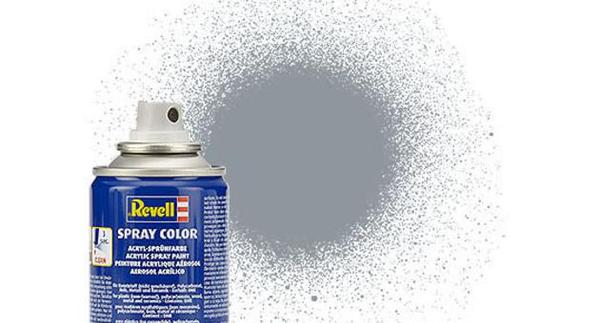 91 Steel Metallic Spray - Image 1