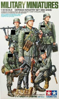 German Infantry Set (Mid-WWII)