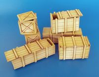 Big wooden boxes
