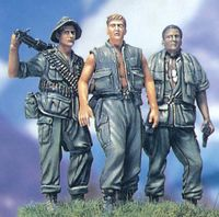 THREE FIGHTING MAN US Soldiers in the Vietnam War - Image 1