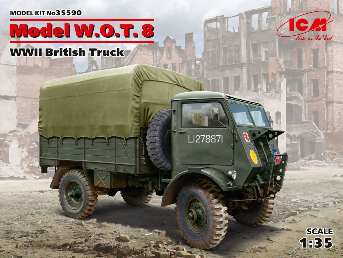 Model W.O.T. 8, WWII British Truck - Image 1