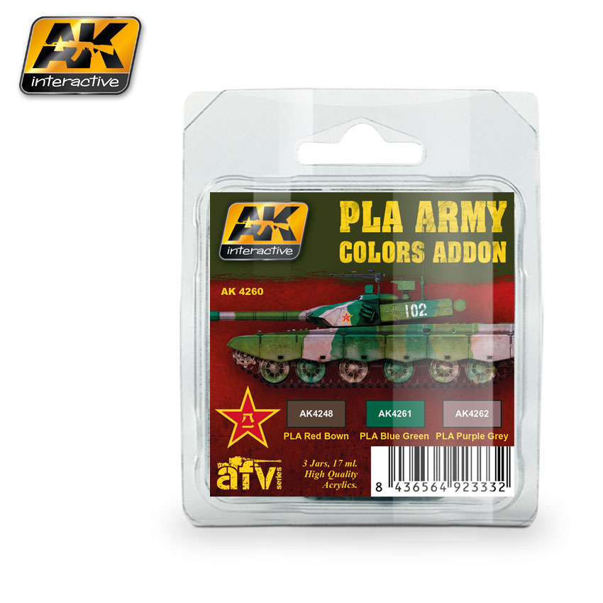 4260 PLA Army Colors Add-On Colors Set - Image 1