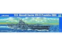 US Aircraft Carrier Franklin 1944