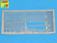 Grilles for Russian Tank T-55A also for T-55 ENIGMA - 35 G29 - Image 1