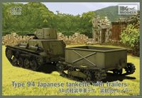 Type 94 Japanese tankette with trailers (2 trailers in the box!) - Image 1