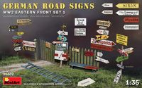 GERMAN ROAD SIGNS WW2 (EASTERN FRONT SET 1) - Image 1