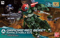 Grimoire Red Beret (Gundam 81111)