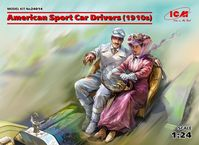 American Sport Car Drivers (1910s) (2 figures)