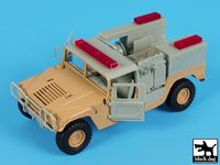Hummer mini pumper conversion set for Tamiya