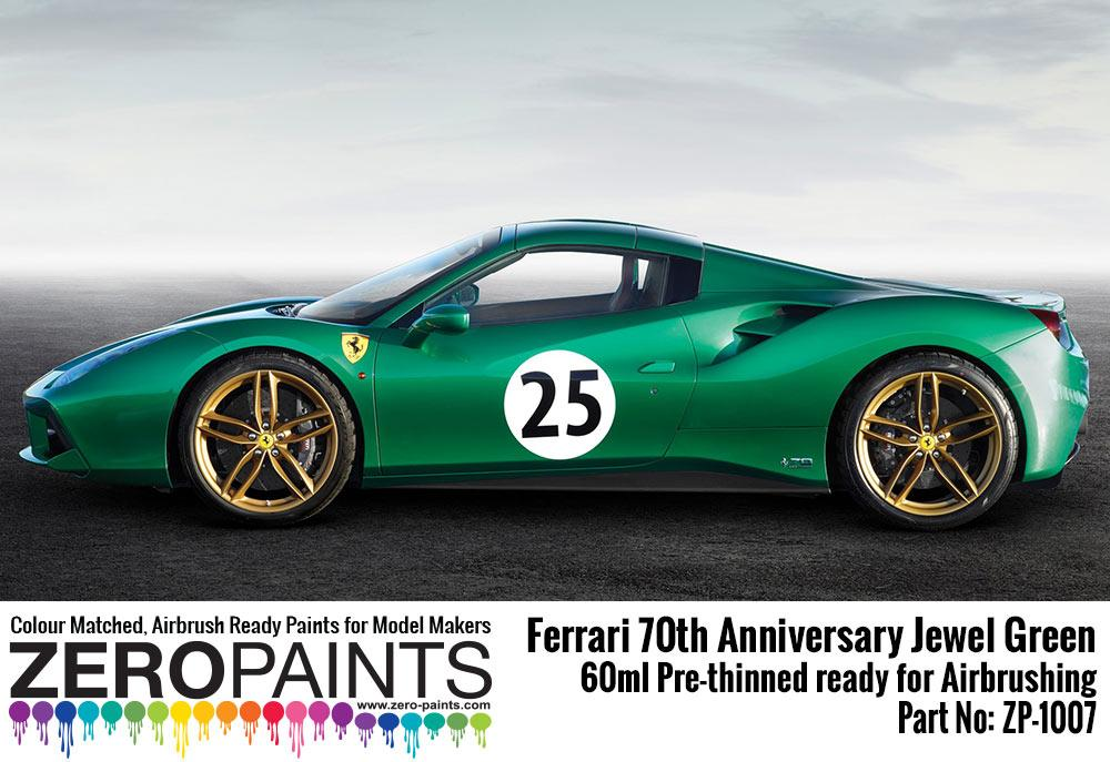 1007 Jewel Green - Ferrari 70th Anniversary - Image 1