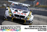 1553 BMW M6 GT3 Alpine White