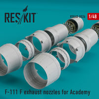F-111 F exhaust nozzles for Academy KIT - Image 1