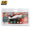 AK 2300 SOVIET AIRCRAFT COLORS 1950-1970 SET