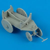 German WWII Support Cart for Ext. Fuel Tank - Image 1