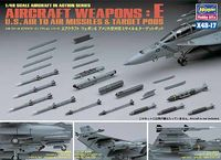AIRCRAFT WEAPONS E : U.S. AIR-TO-AIR MISSILES & TARGET PODS - Image 1
