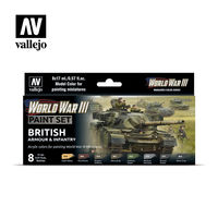 WWIII- British Armour&Infantry