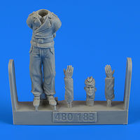 German WWII Tank crew - Trooper A Figurines - Image 1
