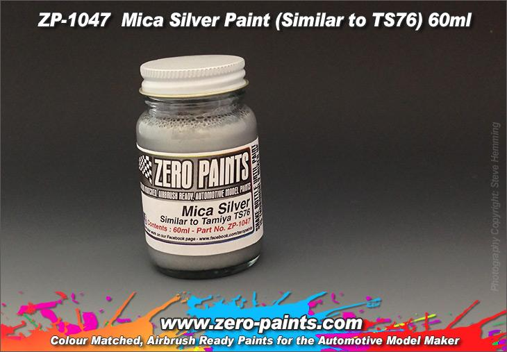 1047 Mica Silver Paint (Similar to TS76) - Image 1
