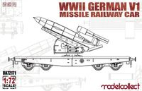 WWII German V1 Missile Railway Car