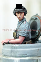 German Panzer Commander Summer #1 - Image 1