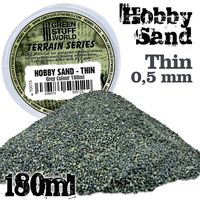 Thin Sand - Dark Grey Colour