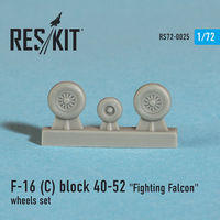 "General Dynamics F-16 (C) block 40-52 ""Fighting Falcon"" wheels set - Image 1"