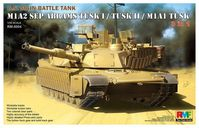 M1A2 SEP Abrams TUSK I/II 3 in 1