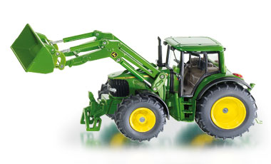 John Deere with Front Loader - Image 1