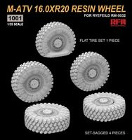 M-ATV 16.0XR20 Resin Wheel  /for Ryefeild RM-5032