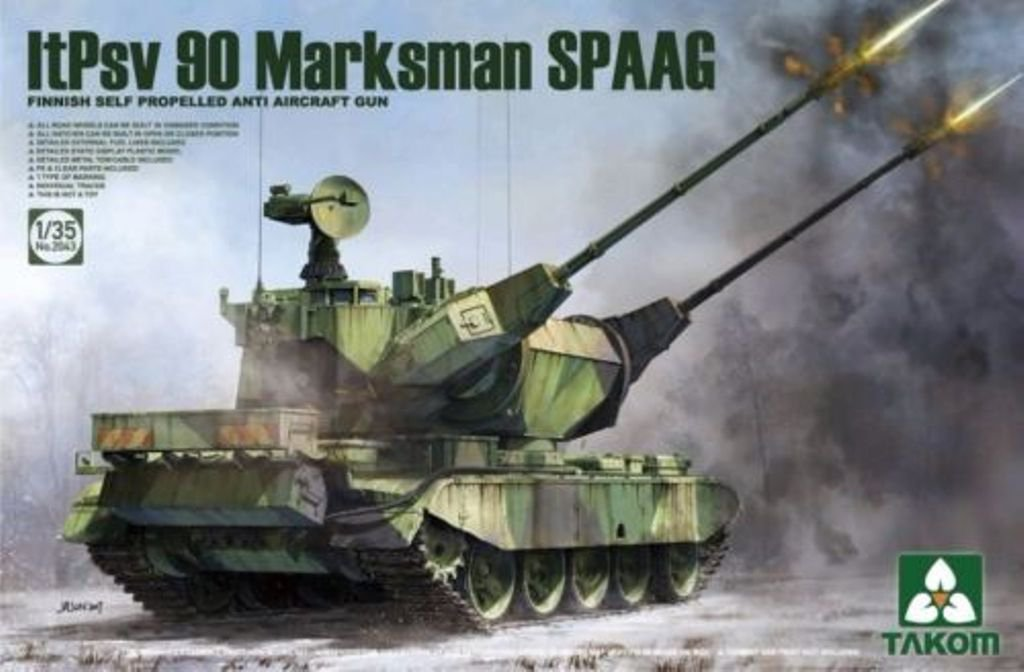 Finnish Self Propelled Anti Aircraft Gun ltPsv 90 Marksman SPAAG - Image 1