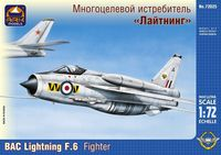 BAC Lightning F.6 British fighter interceptor - Image 1