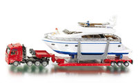 Heavy Haulage Transporter with Yacht
