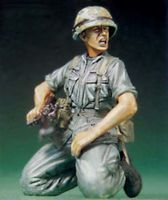 US SOLDIER AT VIETNAM WAR-SHOUTING - Image 1