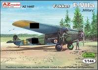 Fokker F-VIIa (Military version)