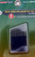 Twist drilling Auger Bit - set 3