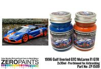 1509 1996 Gulf liveried GTC McLaren F1 GTR Set