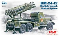 BM-24-12 Soviet Mutiple Launch Rocket System