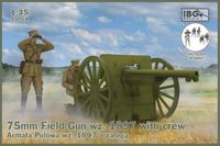 75mm Field Gun wz. 1897 with crew