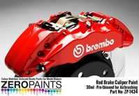 1434 Brake Caliper Red