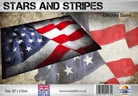 Stars and Stripes Flag 297 x 210mm