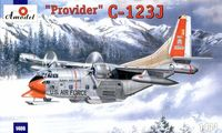 Fairchild HC-123J Provider Military Transport Aircraft (on skis version)