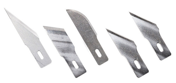 Assorted Heavy Duty Blades - 5pcs. (set) - Image 1