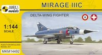 Mirage IIIC Delta-wing Fighter (French & Swiss AF)