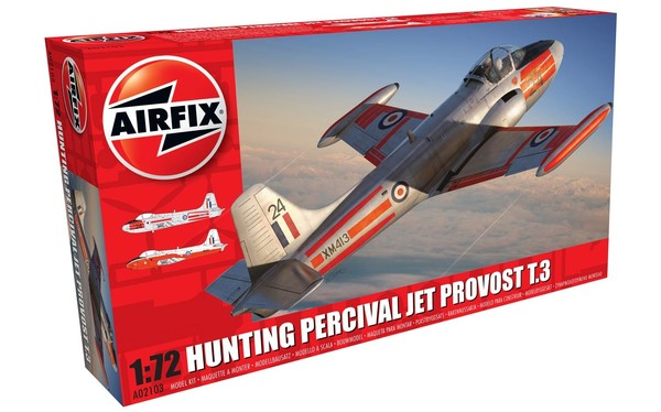 Hunting Percival Jet Provost T.3/T.3a - Image 1