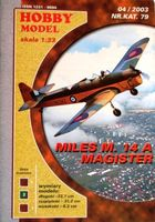 Miles M.14A Magister