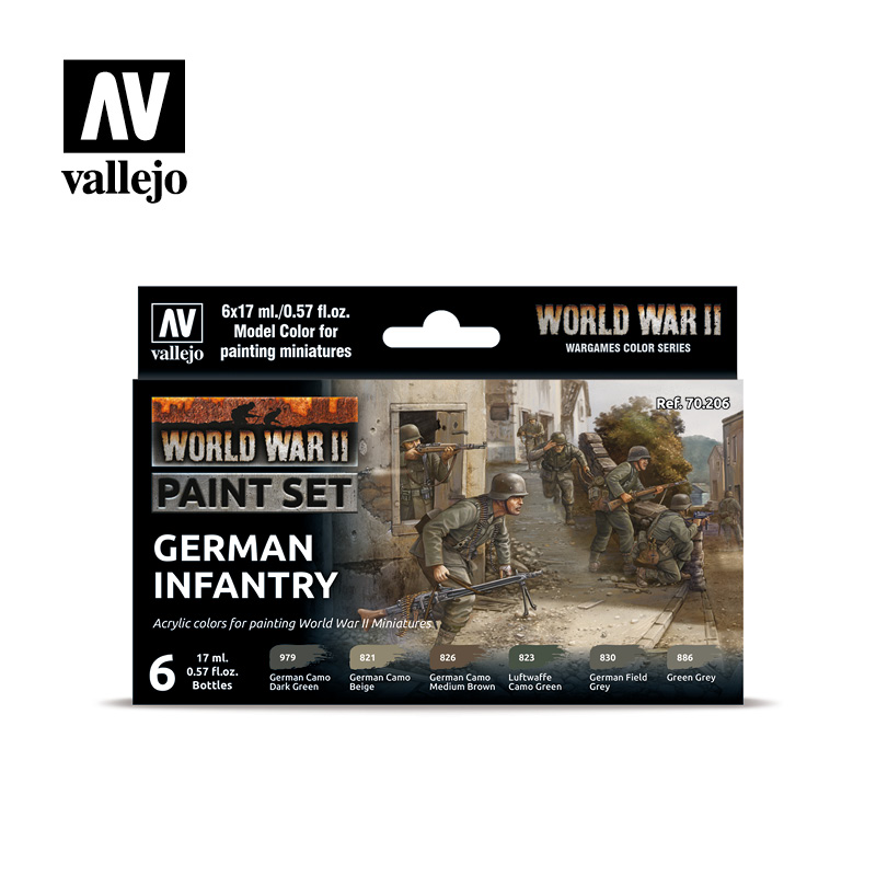 70206 WWII German Infantry Set - Image 1