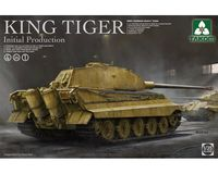 WWII German King Tiger Initial 4in1