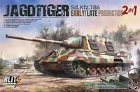 Jagdtiger Sd.Kfz.186 Early / Late Production, 2 in 1